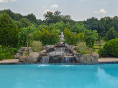 water feature renovation in Moorestown, NJ